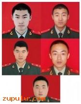 5名消防战士
